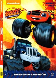Blaze in megakolesniki. DVD... (naslovnica)