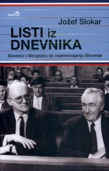 Listi iz dnevnika : Slovenc... (naslovnica)