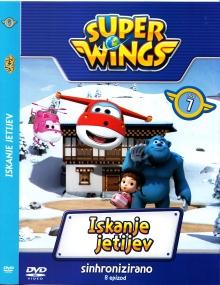 Super wings. DVD 7,Iskanje ... (naslovnica)