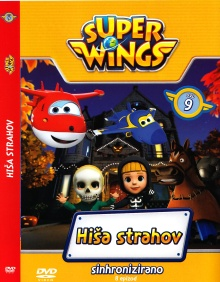 Super wings. DVD 9,Hiša str... (naslovnica)